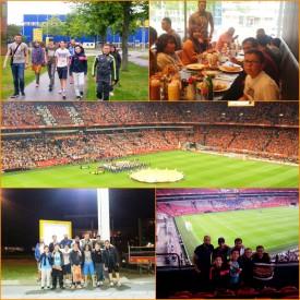Voetbal Nederland-Amerika